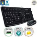 Pack clavier-souris filaire MK120